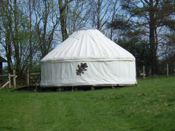 Fully clothed Yurt