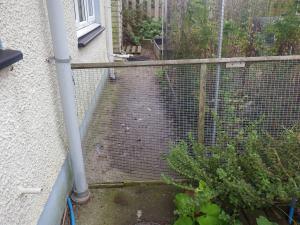 Good job we kept the old gate!