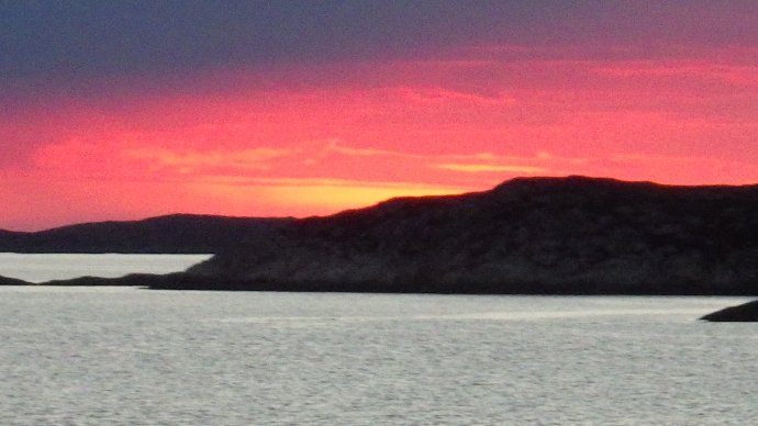 Sunset...well, nearly