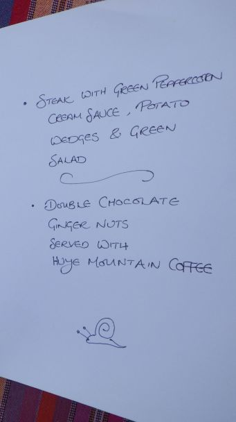 First Bistro menu