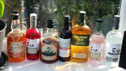 A good selection of spirits