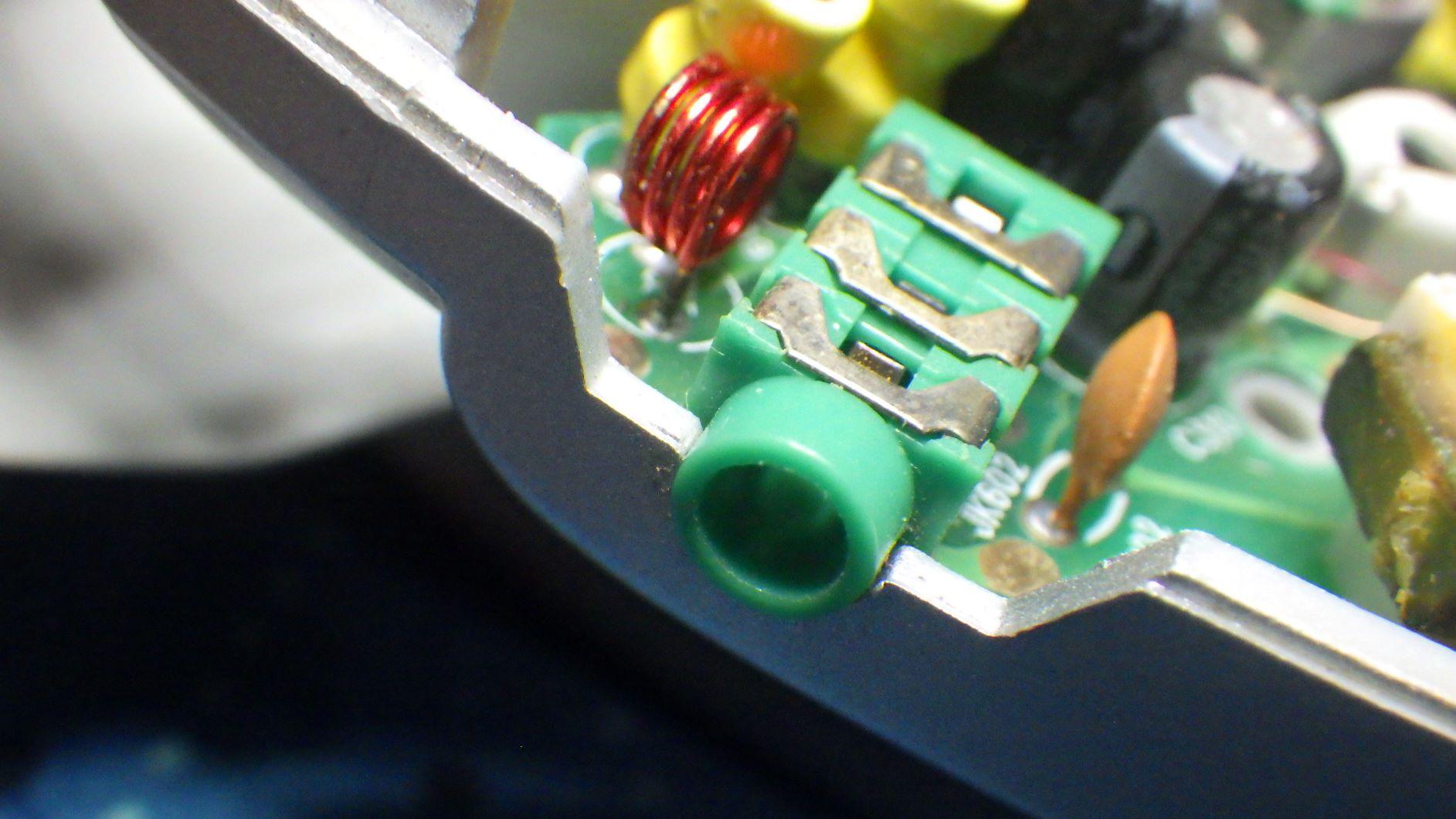 Shiny soon-to-be used socket